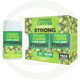 Café Verde Strong Pack Económico 60 + 60 Cápsulas Novity