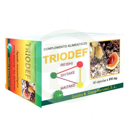 Triodef Golden Green 60 Cápsulas