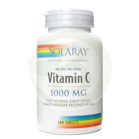 Vitamina C 1.000Mg. 100 Comprimidos Solaray