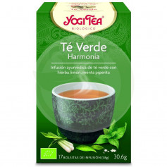 Yogi Tea Té Verde Armonía 17 Filtros