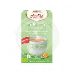 Té Blanco con Aloe Vera Yogi Tea
