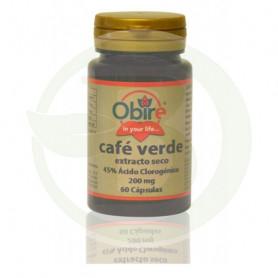 Café Verde Extracto Seco 200Mg. 60 Cápsulas Obire