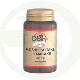 Reishi+Shitake+Maitake Obire 90 Cápsulas Obire