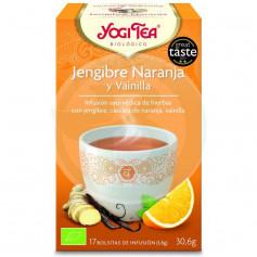 Yogi Tea Jengibre, Naranja y Vainilla 17 Filtros