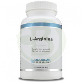 L-Arginina 700Mg. 100 Cápsulas Douglas