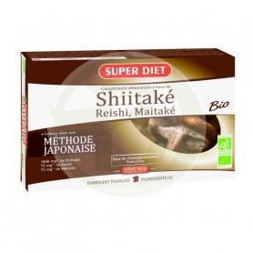 Shitake-Maitake-Reishi BIO 20 Ampollas Super Diet