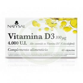 Vitamina D3 60 Cápsulas Natysal