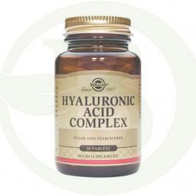 Ácido Hialurónico 120Mg. 30 Tabletas Solgar