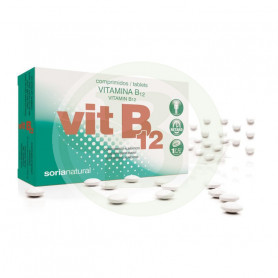 Vitamina B12 Retard 48 Comprimidos Soria Natural