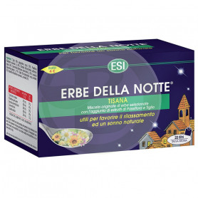 Erbe Della Notte Tisana 20 Filtros ESI