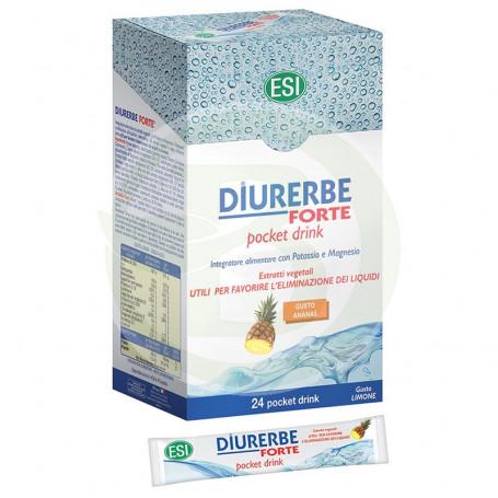Diurerbe Forte Pocket Drink (Piña) 24 Sobres ESI
