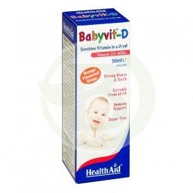 Babyvit D Gotas 50ML. Health Aid