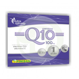 Coenzima Q10 100Mg. 30 Cápsulas Pinisan