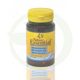 Aceite Hígado de Bacalao 410Mg. 50 Perlas Nature Essential