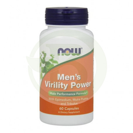 Mens Virility Power 60 Cápsulas Now