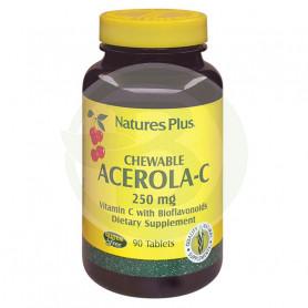 Acerola C 250Mg. 90 Comprimidos Natures Plus
