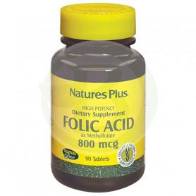 Ácido Fólico 90 Comprimidos Natures Plus