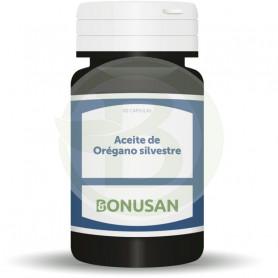 Aceite de Orégano Silvestre 60 Cápsulas Bonusan
