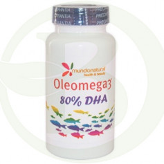 Oleomega3 DHA 60 Cápsulas Mundo Natural