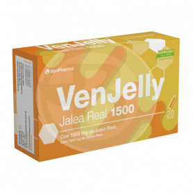 Venjelly Jalea Real 1500 20 Ampollas Venpharma
