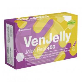 Venjelly Jalea Real +50 20 Ampollas Venpharma