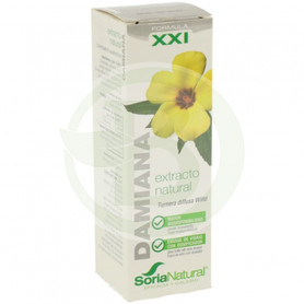 Extracto de Damiana Fórmula XXI 50Ml. Soria Natural