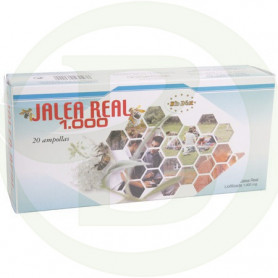 Jalea Real 1.000Mg. 20 Ampollas Bidiet