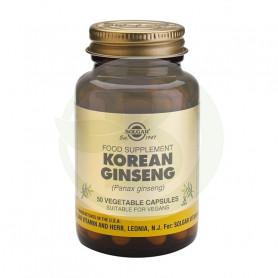 Ginseng Coreano 50 Cápsulas Solgar