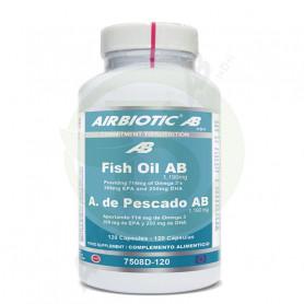 Aceite de Pescado 1.190Mg. 120 Tabletas Airbiotic